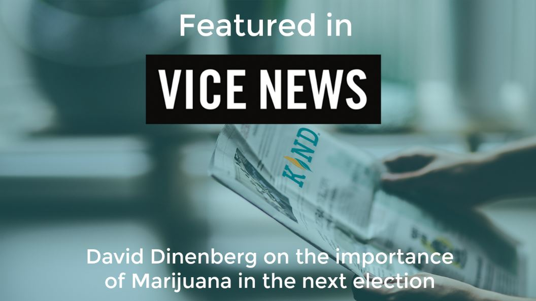David Dinenberg On The Importance Of Marijuana In The Next Election