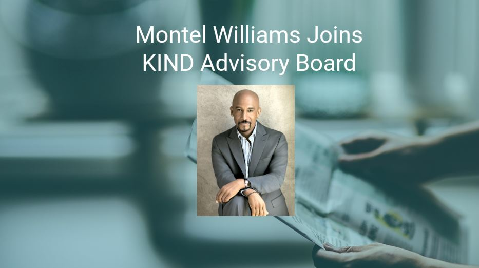 Montel Williams Joins KIND Financial Advisory Board