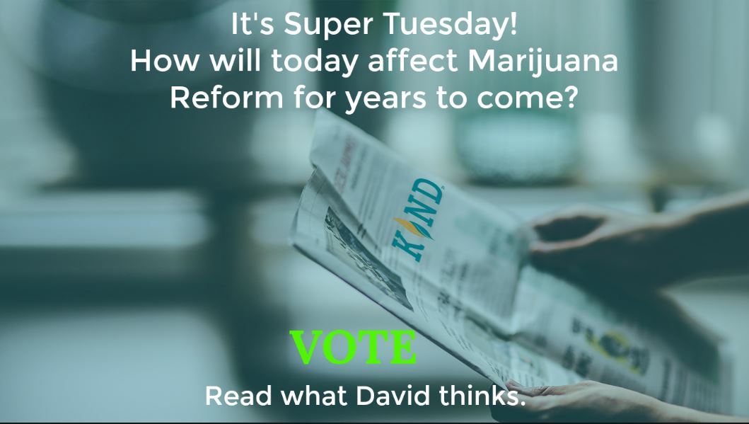 SUPER Tuesday And Cannabis